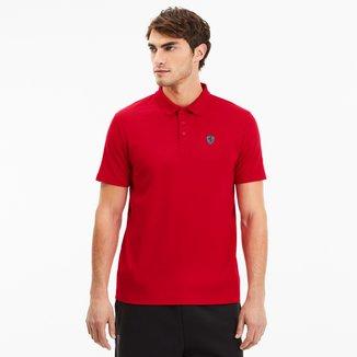 Camisa Polo Puma Ferrari Masculina