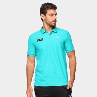 Camisa Polo Puma MAPM Masculina