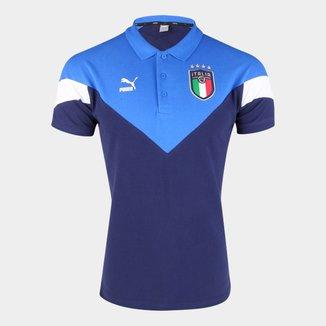 Camisa Polo Puma Seleção Itália Masculina