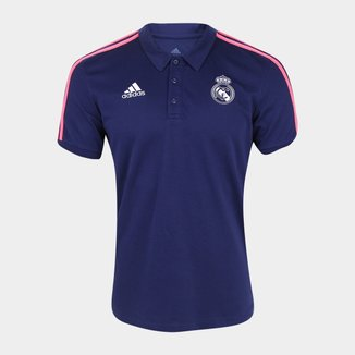 Camisa Polo Real Madrid 20/21 Adidas Masculina