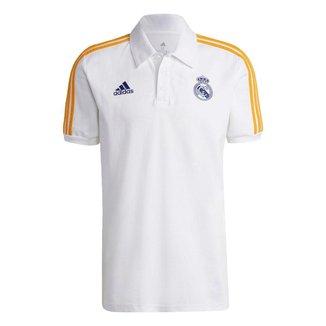 Camisa Polo Real Madrid 3-Stripes Adidas