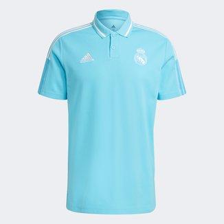 Camisa Polo Real Madrid Viagem 21/22 Adidas Masculina