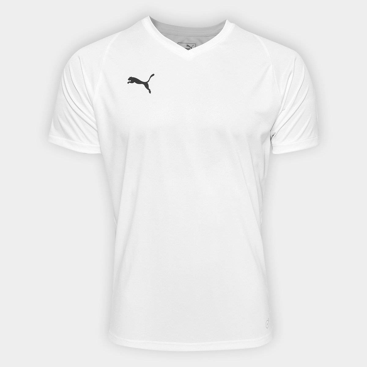 db531089af Camisa Puma Liga Jersey Core Masculina - Branco e Preto - Compre ...