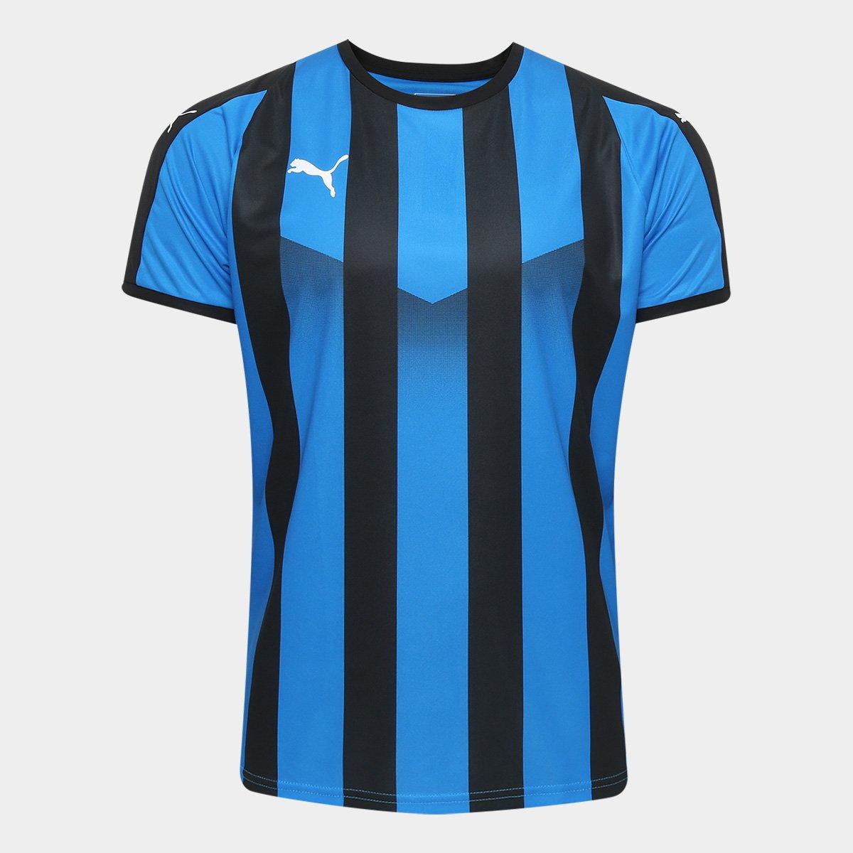 Camisa Puma Liga Jersey Striped Masculina - Compre Agora  bd049e4d5a9d2