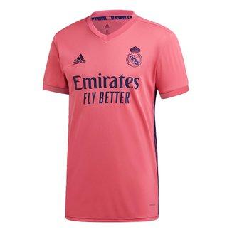 Camisa Real Madrid Away 20/21 s/n° Torcedor Adidas Masculina