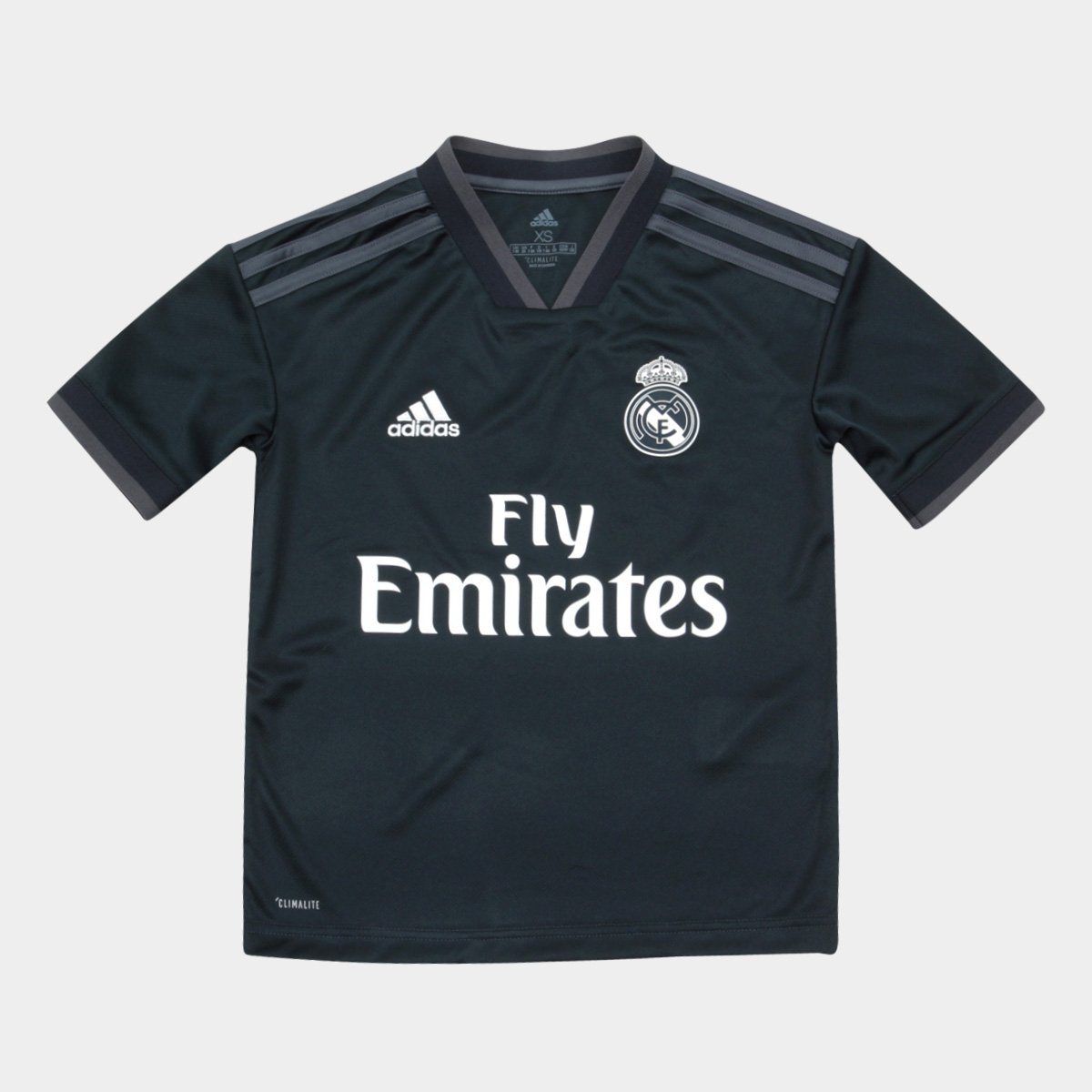 8ece90c5de1 Camisa Real Madrid Infantil Away 2018 s n° Torcedor Adidas - Azul Escuro -  Compre Agora