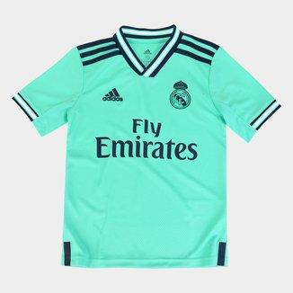 Camisa Real Madrid Infantil Third 19/20 s/nº Torcedor Adidas