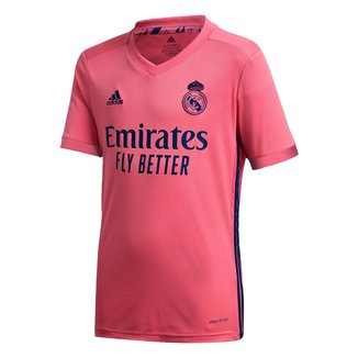 Camisa Real Madrid Juvenil Away 20/21 s/n° Torcedor Adidas