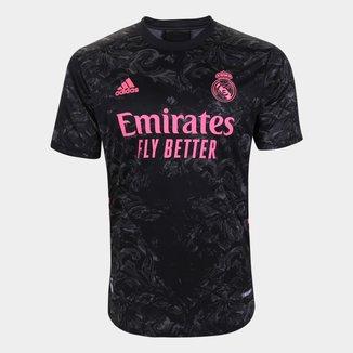Camisa Real Madrid Third 20/21 s/n° Jogador Adidas Masculina