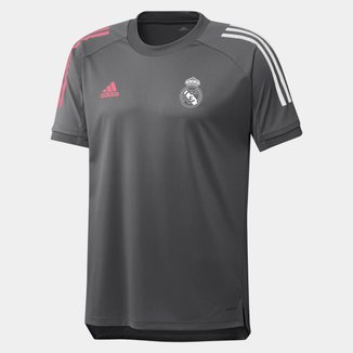 Camisa Real Madrid Treino 20/21 Adidas Masculina