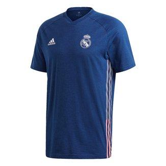 Camisa Real Madrid Viagem 20/21 Adidas Masculina