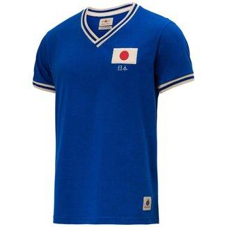 Camisa Retrô Gol Seleção Japão Edição Limitada Masculina