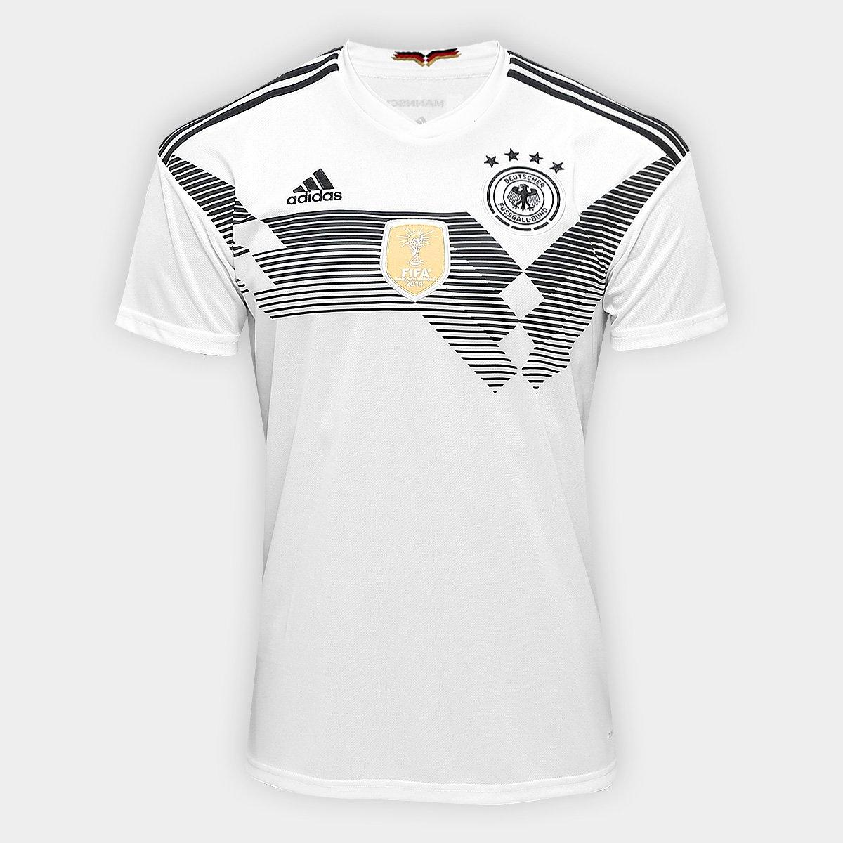 0dae4b1300a Camisa Seleção Alemanha Home 2018 s n° Torcedor Adidas Masculina - Compre  Agora