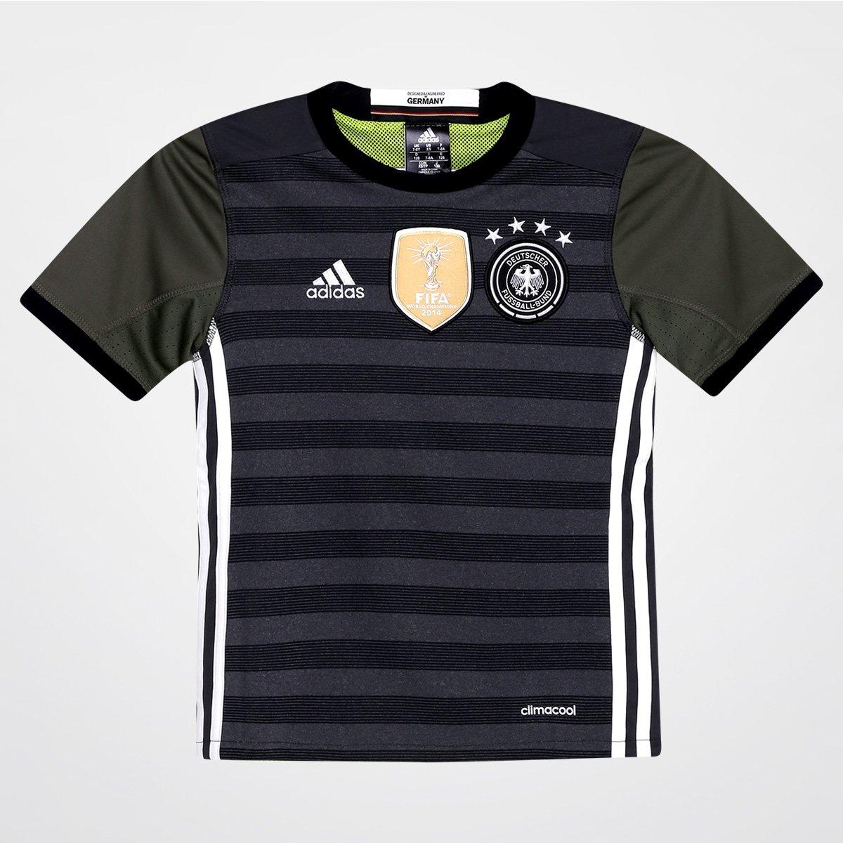 e48c4ec45ca Camisa Seleção Alemanha Infantil Away 2016 s nº - Torcedor Adidas Masculina