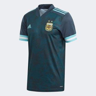 Camisa Seleção Argentina Infantil Away 20/21 s/n° Torcedor Adidas