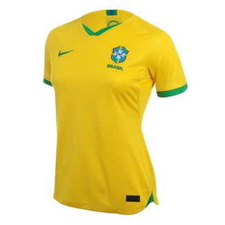 Camisa Seleção Brasil I 20/21 s/n° Torcedor Nike Feminina