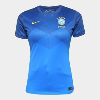 Camisa Seleção Brasil II 20/21 s/n° Torcedor Nike Feminina