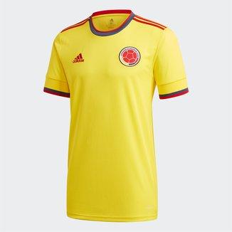 Camisa Seleção Colômbia Home 20/21 s/nº Torcedor Adidas Masculina