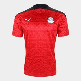 Camisa Seleção Egito Home 20/21 s/n° Torcedor Puma Masculina