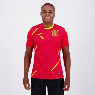 Camisa Seleção Espanha Futsal Home 20/21 s/n° Torcedor Joma Masculina