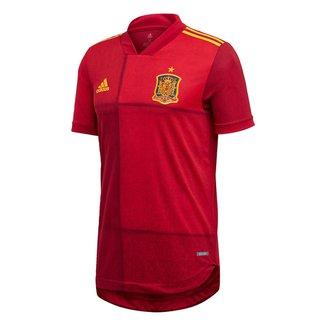 Camisa Seleção Espanha Home 19/20 s/nº Jogador Adidas Masculina