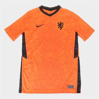 Camisa Seleção Holanda Juvenil Home 20/21 s/n° Torcedor Nike