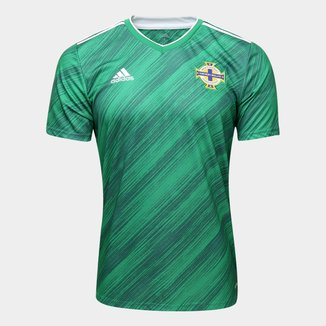 Camisa Seleção Irlanda Home 20/21 s/n° Torcedor Adidas Masculina