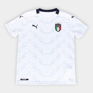 Camisa Seleção Itália Infantil Away 20/21 s/nº Torcedor Puma