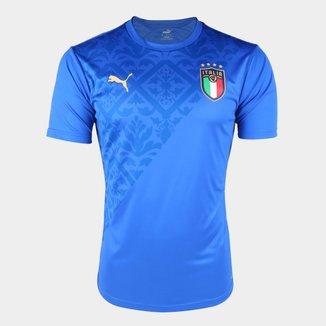Camisa Seleção Itália Pré-Jogo 20/21 Puma Masculina