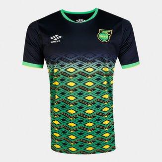 Camisa Seleção Jamaica Away 18/19 s/nº Torcedor Umbro Masculina