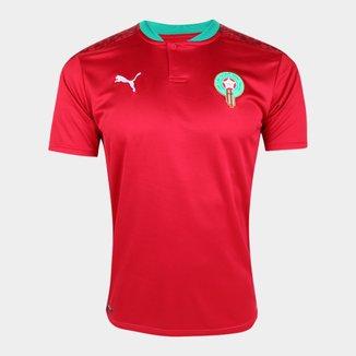 Camisa Seleção Marrocos Home 20/21 s/n° Torcedor Puma Masculina