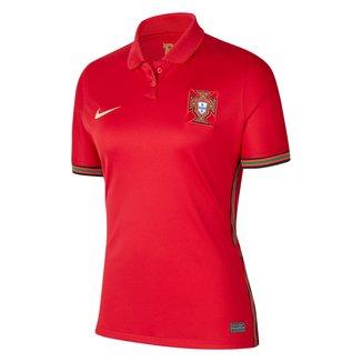 Camisa Seleção Portugal 20/21 Torcedor Nike Feminina