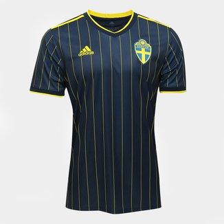 Camisa Seleção Suecia Away 20/21 s/n° Torcedor Adidas Masculina