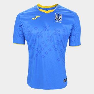 Camisa Seleção Ucrânia Away 20/21 s/n° Torcedor Joma Masculina