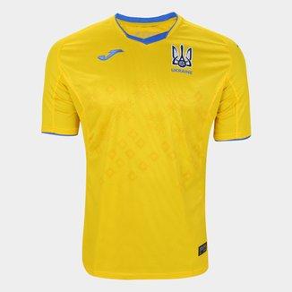 Camisa Seleção Ucrânia Home 20/21 s/n° Torcedor Joma Masculina