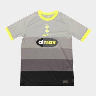 Camisa Tottenham Juvenil AIR MAX 20/21 Torcedor Nike