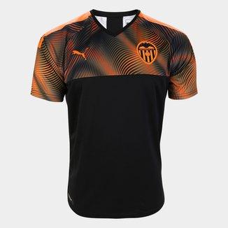 Camisa Valencia Away 19/20 s/nº Torcedor Puma Masculina