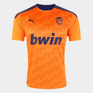 Camisa Valencia Away 20/21 s/n° Torcedor Puma Masculina