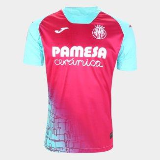 Camisa Villareal Third 20/21 s/n° Torcedor Joma Masculina