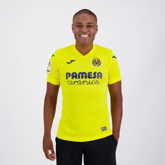 Camisa Villarreal Home 20/21 s/n° Torcedor Joma Masculina