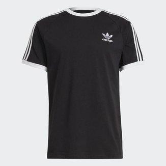 Camiseta Adidas 3 Stripes Preta