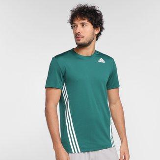 Camiseta Adidas Aeroready 3 Listras Masculina