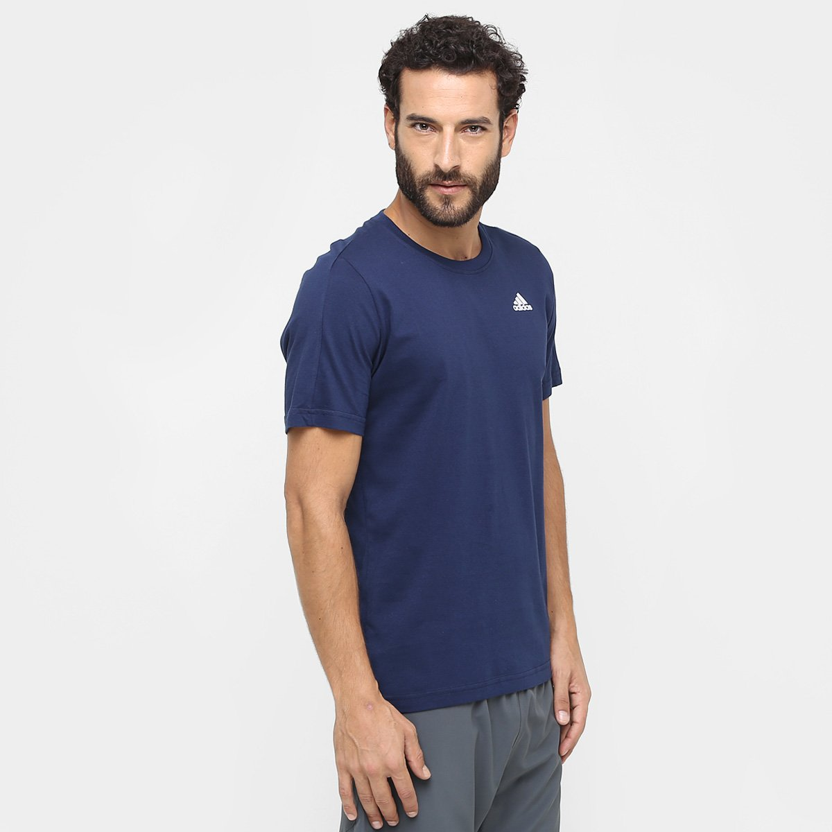 a090ceb08 Camiseta Adidas Essential Base Masculina | Allianz Parque Shop