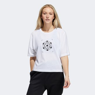 Camiseta Adidas Gráfica Innov 4D Feminina