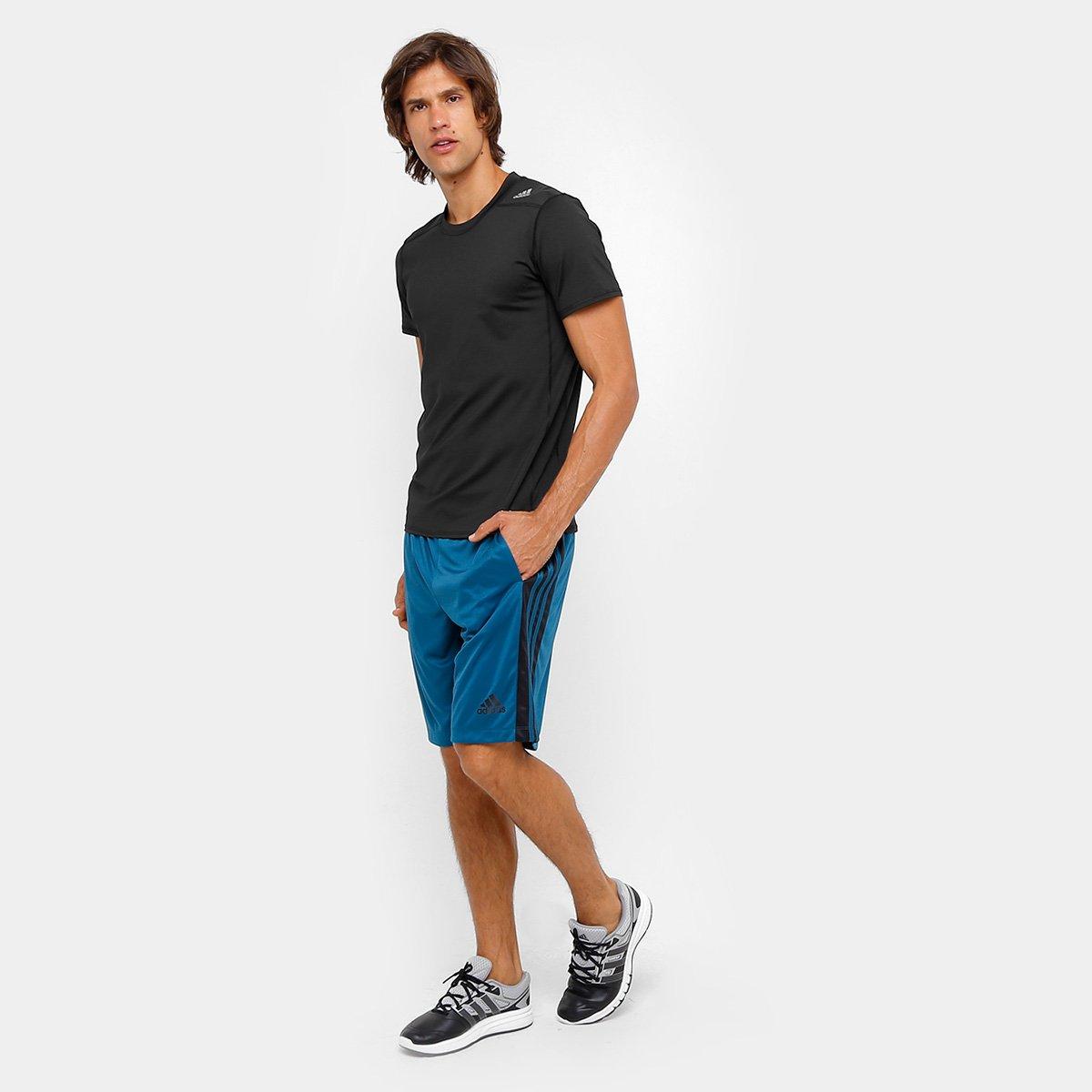 7b666f2b4a27b Camiseta Adidas Tf Base Fitted M Masculino - Compre Agora
