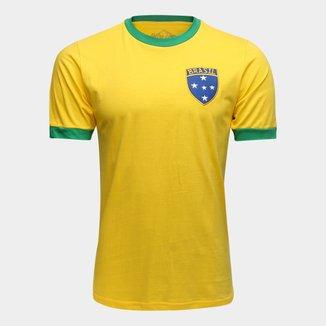 Camiseta Brasil 1982 Retrô Times Masculina