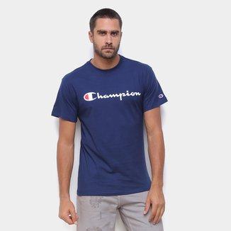 Camiseta Champion Script Logo Ink Masculina
