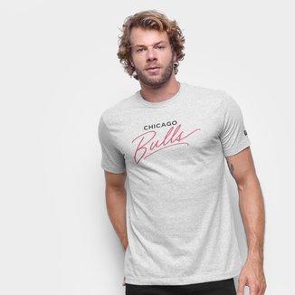 Camiseta Chicago Bulls New Era Core Handsign Masculina