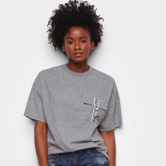 Camiseta Colcci Com Bolso Feminina