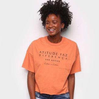 Camiseta Colcci Diferença Eco Active Feminina